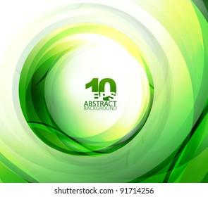 Vector green eco sphere