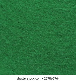 Vector green felt background for poker, snooker, and pool games tables