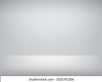 Vector grey abstract background empty room with spotlight effect.Graphic art design.
