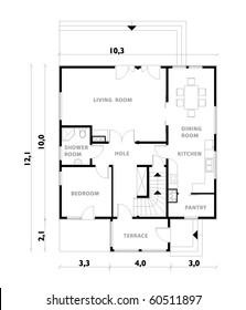 vector ground floor project