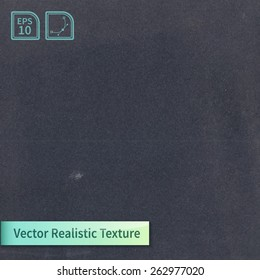 Vector grunge chalk board texture. Grain texture for your design.