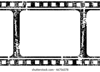 vector grunge filmstrip, may use as a background