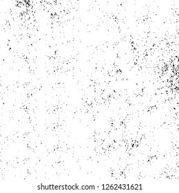 Vector grunge overlay texture. Black and white background