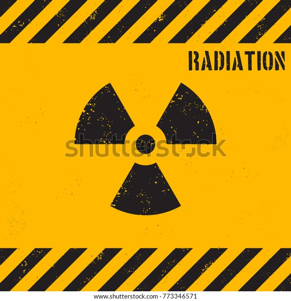 Vector grunge radiation background