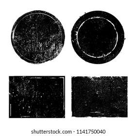 Vector Grunge Stamps.Distress Design Elements.