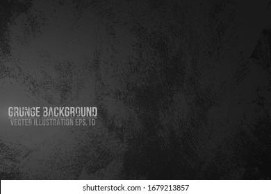 Vector grunge texture drak background
