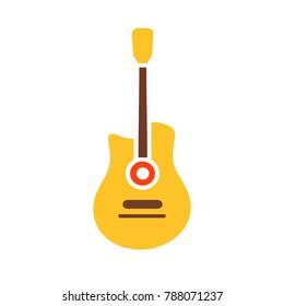 vector guitar - music icon