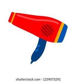 vector hair dryer icon