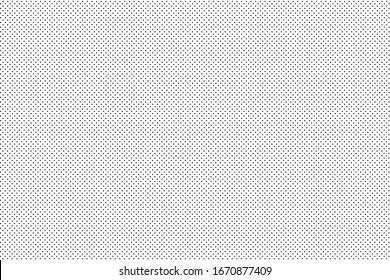 Vector halftone background circles arranged in a line orderly.