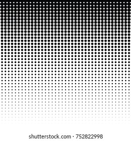 vector halftone for backgrounds and designs