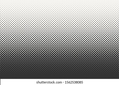 Vector halftone dots background. Black and white comic pattern. EPS 10