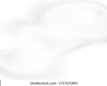 Vector halftone punetir background. Abstract pattern with dots and circles. Vector abstract modern texture.