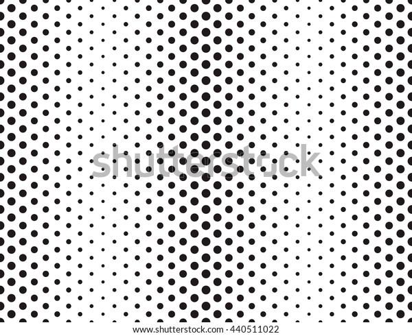 Vector Halftone Texture.Vector Halftone Texture. Abstract Pattern . Halftone Pattern . Texture with Dots . Black Pattern