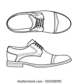 Leather Shoe Sketch Images, Stock Photos \u0026 Vectors