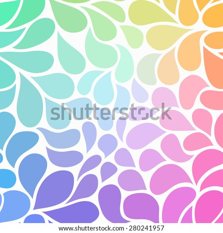 vector hand drawn colorful abstract background stock vector royalty
