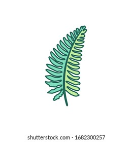 vector hand drawn cute plant clip art