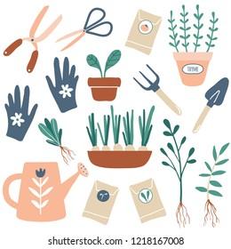 Imágenes, fotos de stock y vectores sobre Jardinero Dibujo