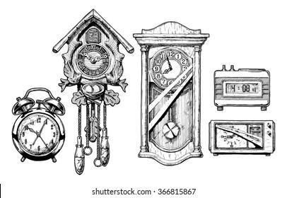 Pendulum Clock Images, Stock Photos & Vectors | Shutterstock