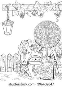 Zentangle Garden Stock Illustrations, Images \u0026 Vectors