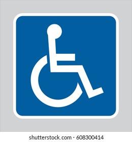 handicap logo images stock photos vectors shutterstock