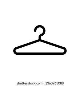 vector hanger icon.