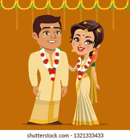 Indian Wedding Garland Stock Illustrations Images Vectors Shutterstock