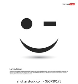 Vector Happy smiley icon