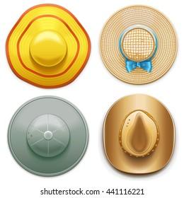Vector Hats Set 2