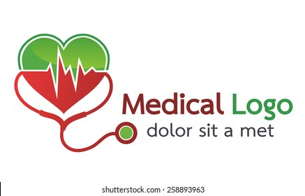 Vector Health Care Design,medicine icons and signs,beating heart.- vector illustrator