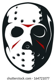 Vector Hockey Mask