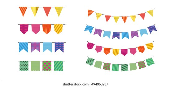 vector holiday Bday. birthday party