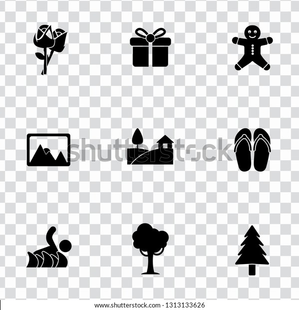 vector holiday illustrations - summer and winter vacation sign symbols, tourism travel icons.