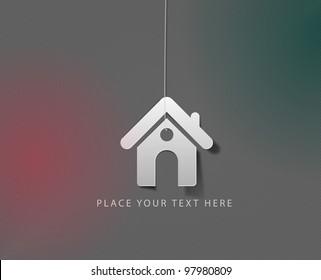vector home icon design element.