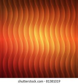 Vector hot background