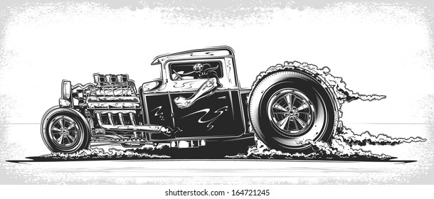 Hot Rod Flames Images, Stock Photos & Vectors | Shutterstock