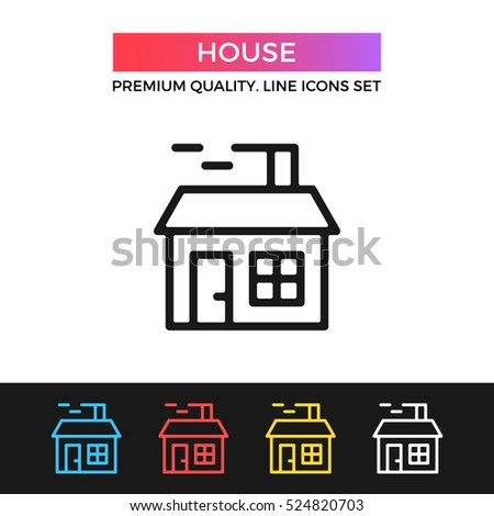 Vector House Icon Christmas House Smoking Stock Vector (Royalty Free on handicapped accessible house, mrs miniver house, milking house, flames house, see through house, smoke showing from a house, drying house, midget house, asian house, torture house, teenagers house, burning house, slave school house, trailer trash house, job house, dangling house, indian house, unhealthy house, speeding house, a tiny house,