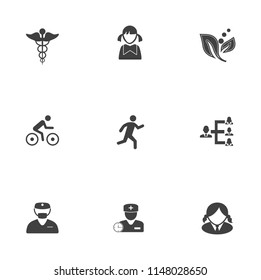 vector Human, people, family, group, social, partnership Icons