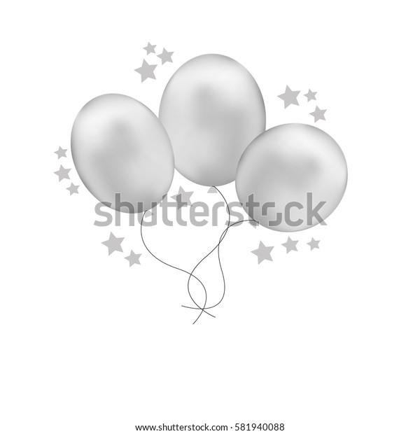 vector icon air ballon