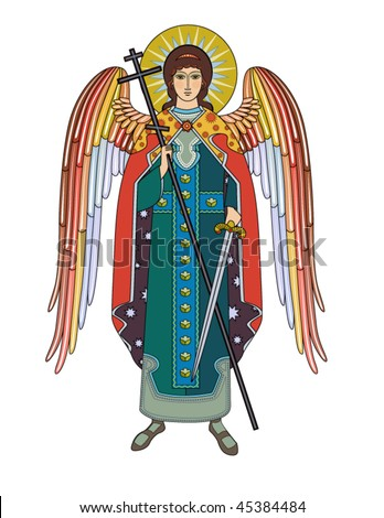 Vector icon of Archangel