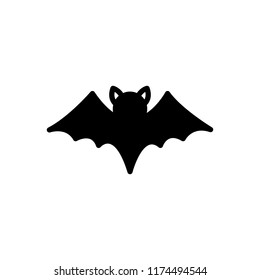 Vector icon for bat