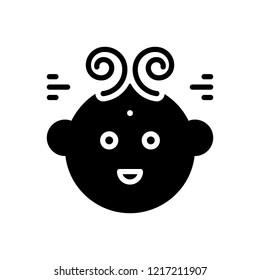Vector icon for bebe