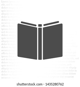 Livre Pictogramme Stock Illustrations Images Vectors