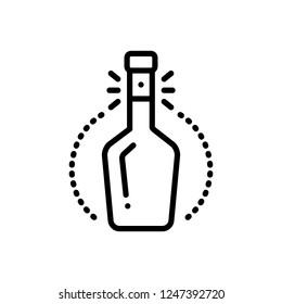 Vector icon for bottleneck
