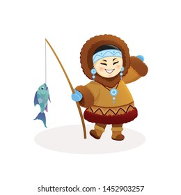 Inuit Fishing Images, Stock Photos & Vectors | Shutterstock