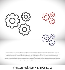 vector icon cogwheel