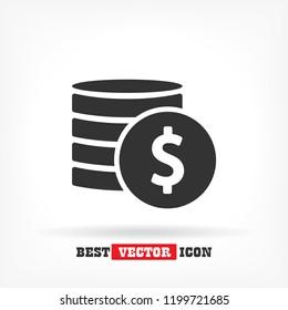 vector icon coin
