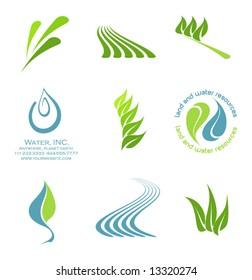 vector Icon elements set 2- environmental