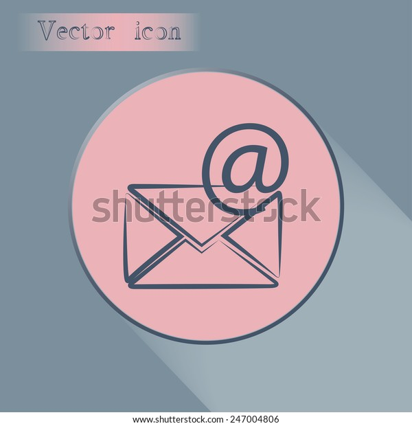 Wondrous Vector Icon Envelope Paper Sheet Concept Stock Vector Pdpeps Interior Chair Design Pdpepsorg
