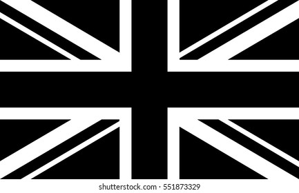 Vector icon flag of Great Britain