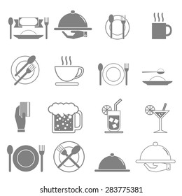 Vector icon, food and beverages.
